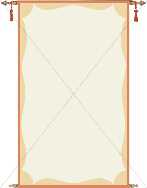 Hanging Scroll Border