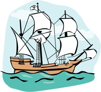Mayflower Clipart