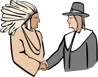 Thanksgiving Handshake Clipart