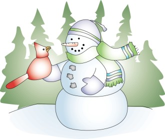 Snowman Clipart