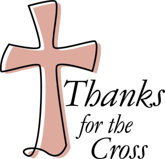 Thanks for the Cross
