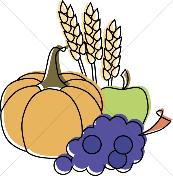 Fall Food Clipart