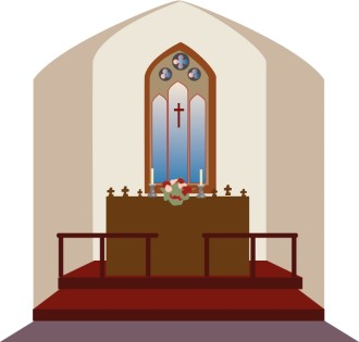 Church Sanctuary Clipart