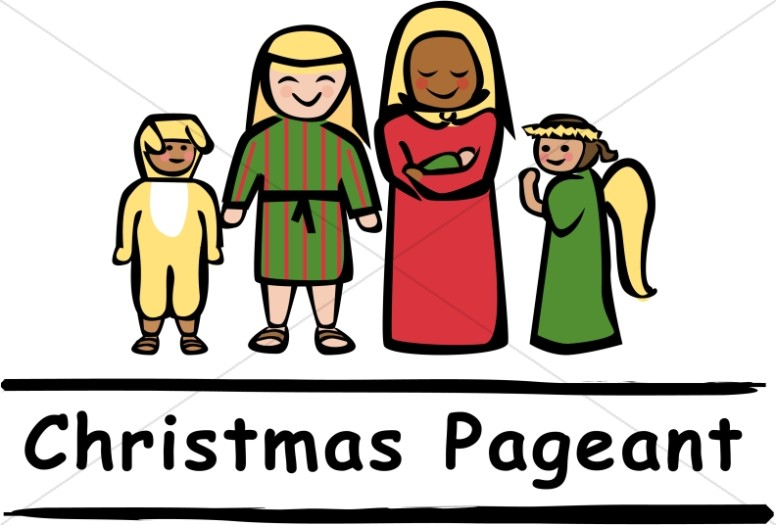 Christmas Pageant People Nativity