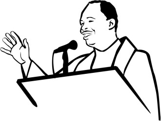 African American Pastor Clipart
