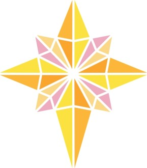 Bright Nativity Star Clipart