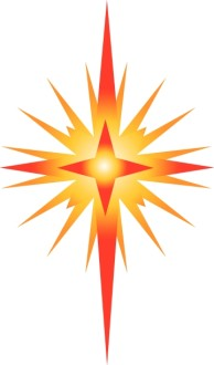 Bright Star of Bethlehem Clipart
