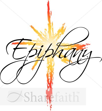 Epiphany Star Word Art | Epiphany Clipart