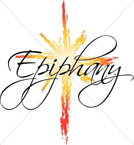 Epiphany Star Word Art