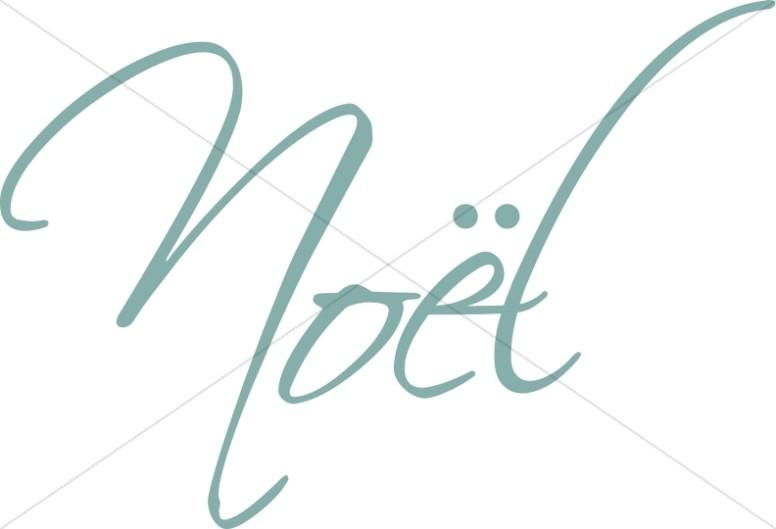 Noel Word Art