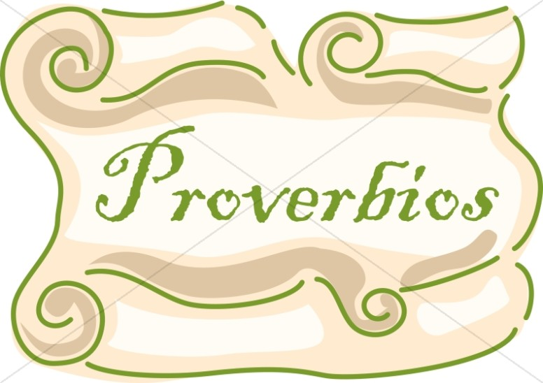 Spanish Title of Proverbios