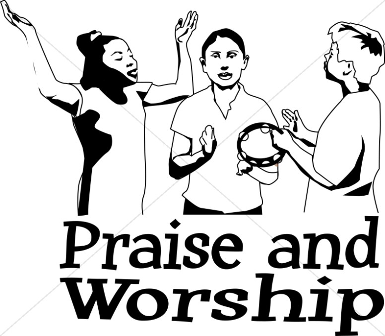 free christian praise clipart - photo #29