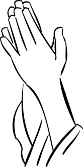Hands of Petition Clipart