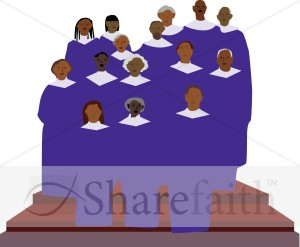 African American Gospel Singers Clipart