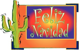 Cactus and Feliz Navidad