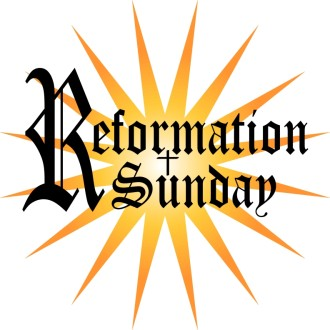 Reformation Sunday Word Art