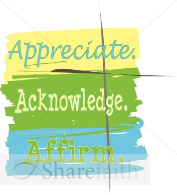 Appreciate Acknowledge Affirm