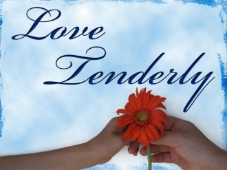 Love Tenderly Photo Background