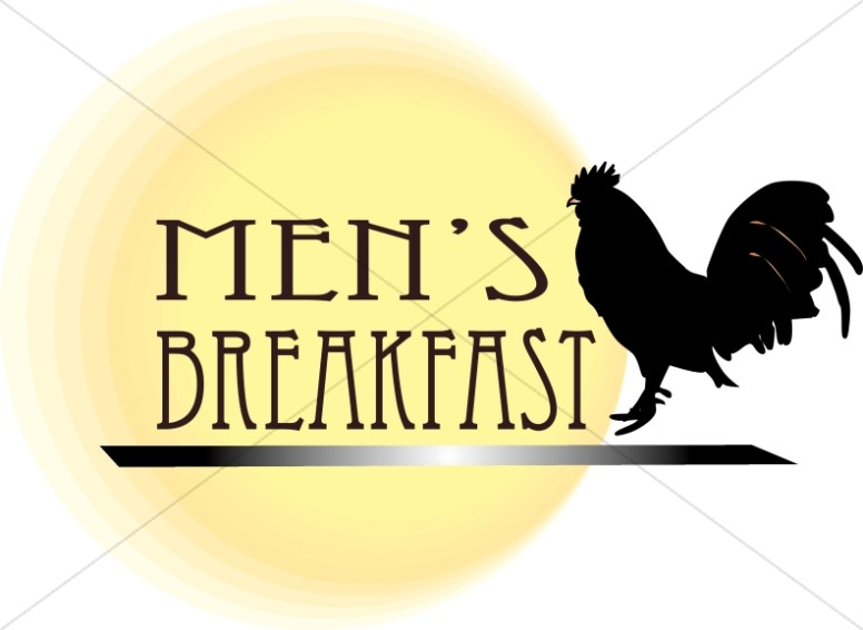 Mens Breakfast Clipart
