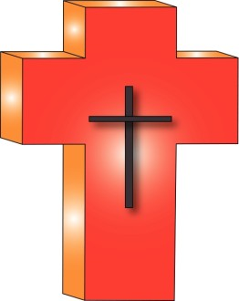 Thick Red Cross