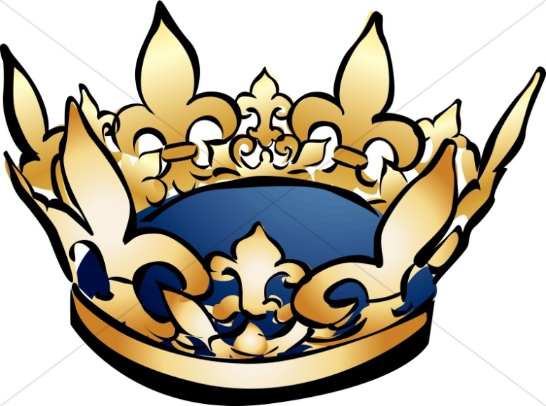 Gold Crown Clipart