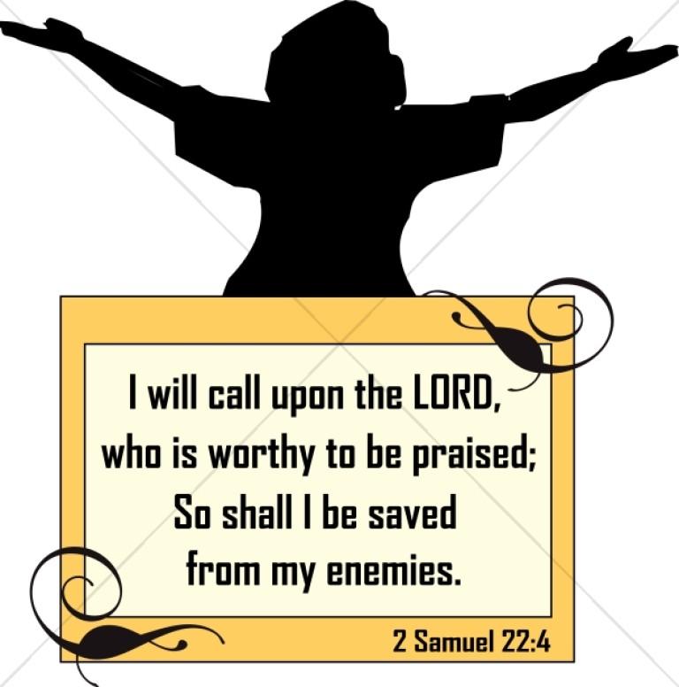Praiser with Scripture