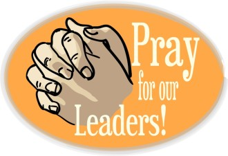 Pray for Leaders