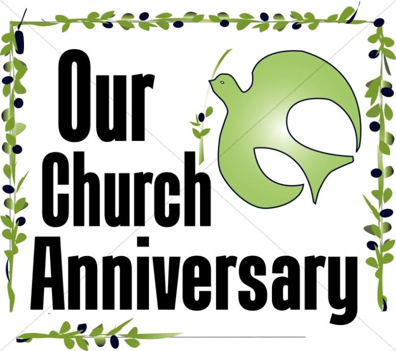 Our Church Anniversary Clipart