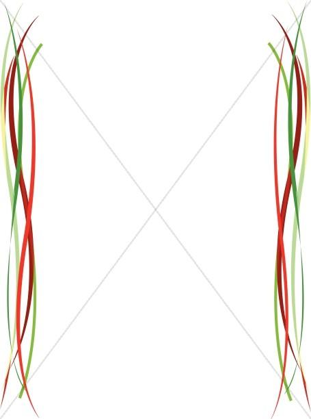 Curvy Lines Border