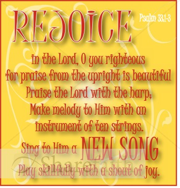 Rejoice Psalm