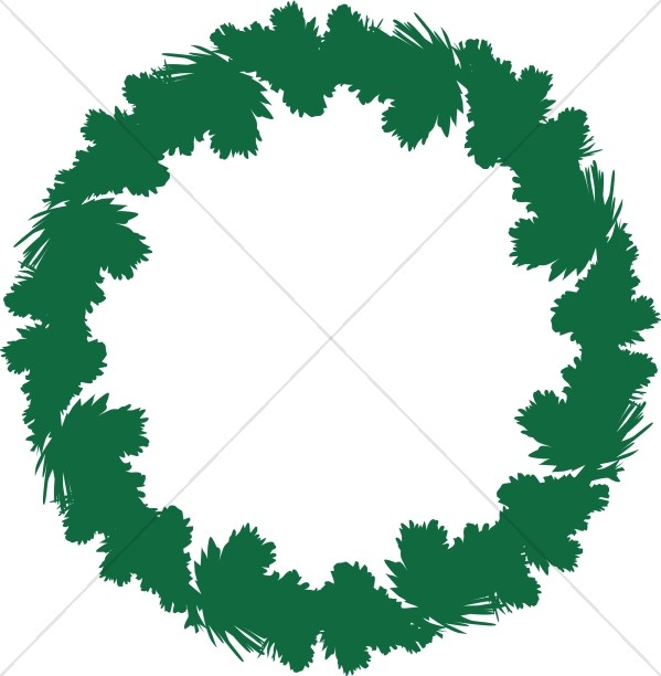 Dark Green Wreath