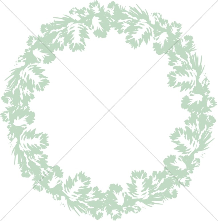 Soft Green Wreath