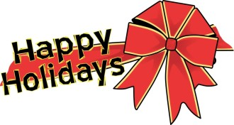 Happy Holiday Bow
