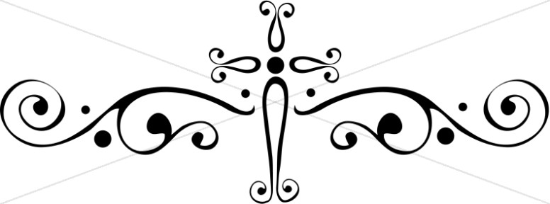 Decorate Cross Page Accent