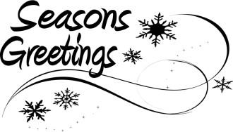 Seasons Greetings Page Accent