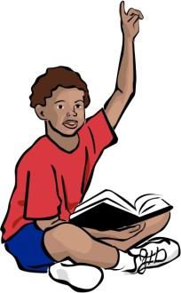 African American Youth with Bible
