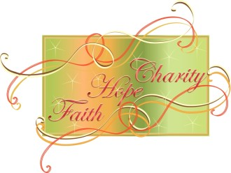 Colorful Charity Hope Faith