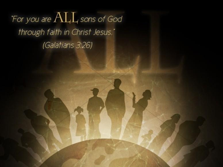 Alll Sons of God