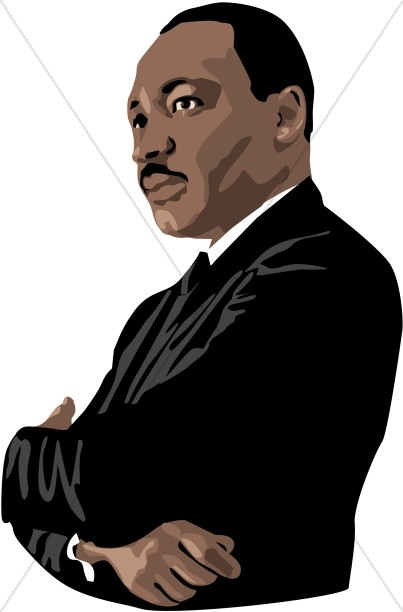 clip art martin luther king jr day - photo #47
