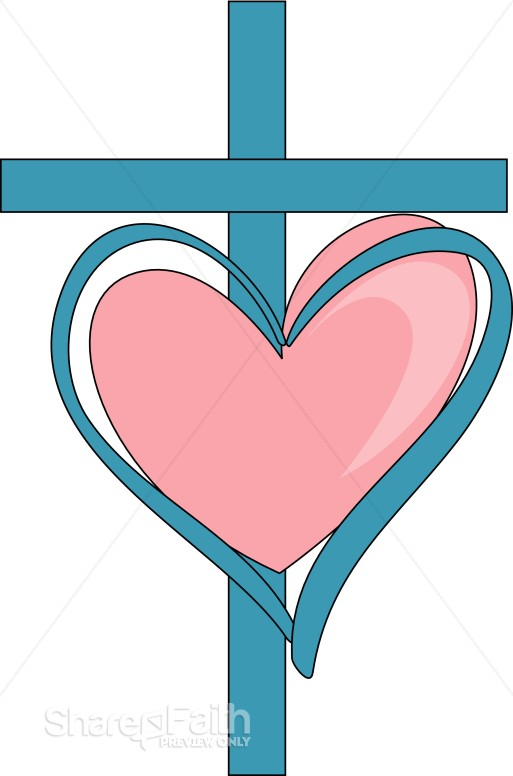 Sweet Cross and Heart
