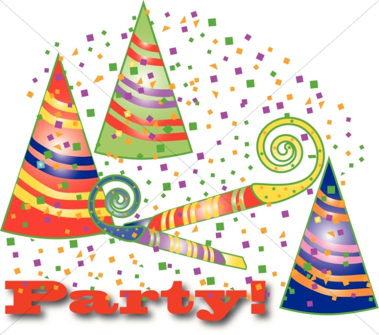 Party Hats Graphic