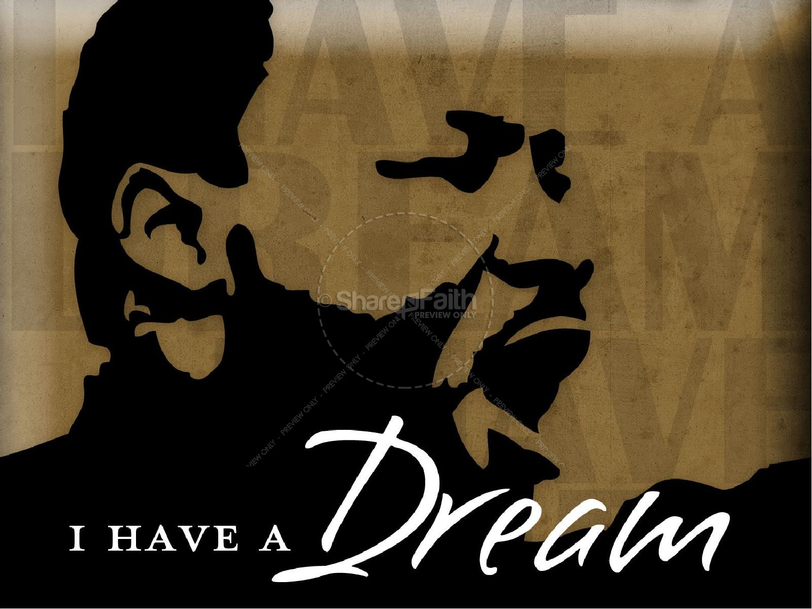 Martin Luther King Dream Slideshow | slide 1