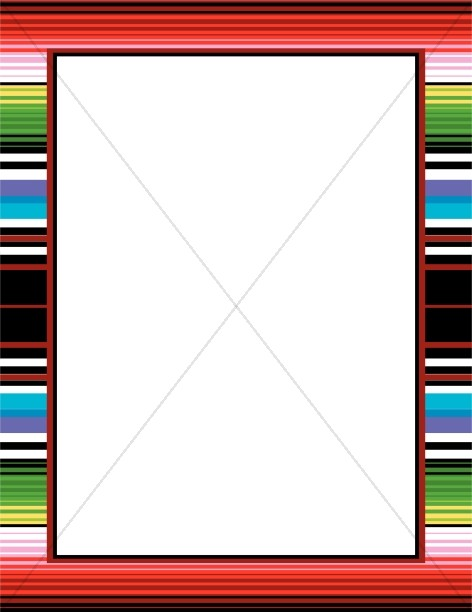 Mexican Blanket Border