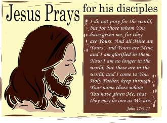 Jesus Prays for His Disciples