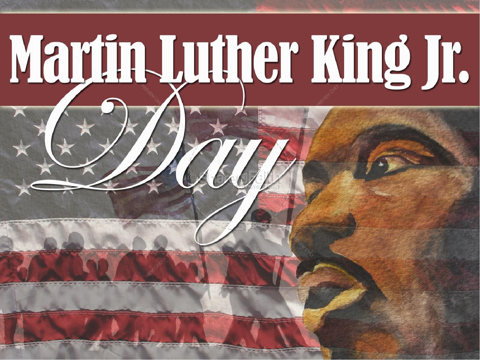 Martin Luther King Jr Day Slideshow | slide 1