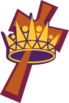 Crown and Cross Graphic