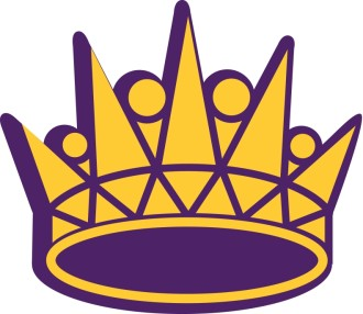 Gold and Purple Crown
