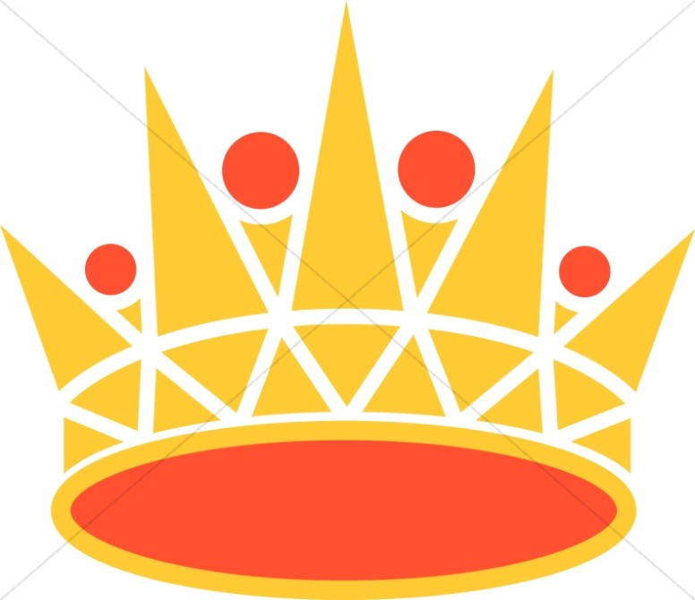 Gold and Orange Crown
