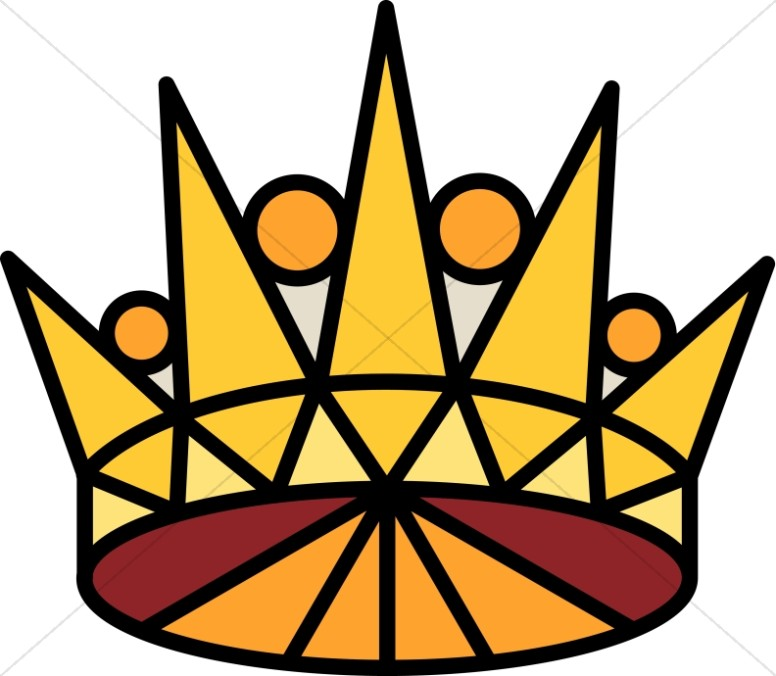 Pointed Gold Crown