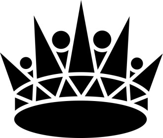 Black Pointed Crown